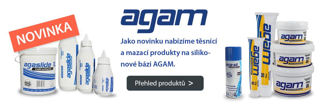 Těsnící a mazací produkty AGAM
