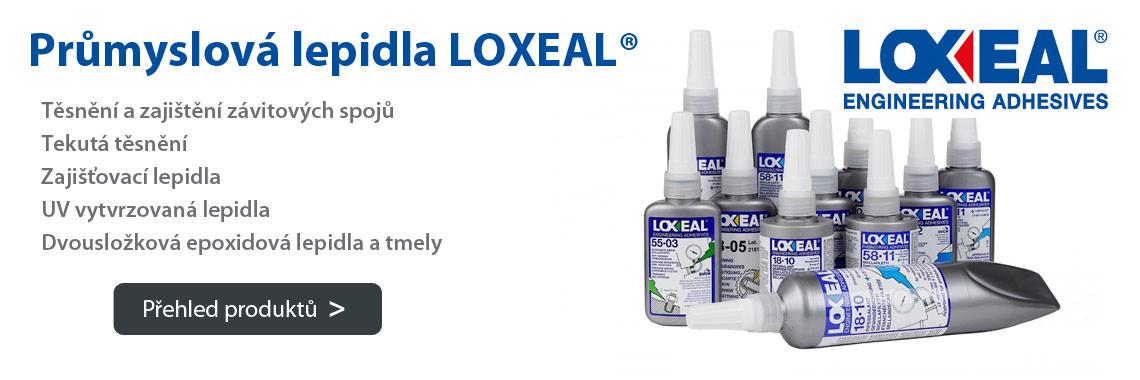 Průmyslová lepidla a těsnění LOXEAL