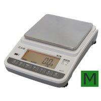 Lékárenská váha přesná CAS XE 6000g s ověřením
