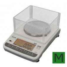 Zlatnická váha přesná CAS XE 600g s ověřením
